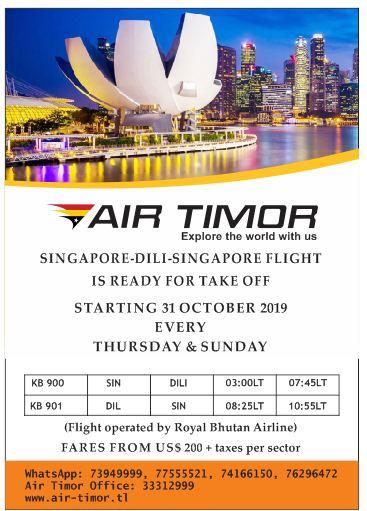 AirTimorDili-Singapura