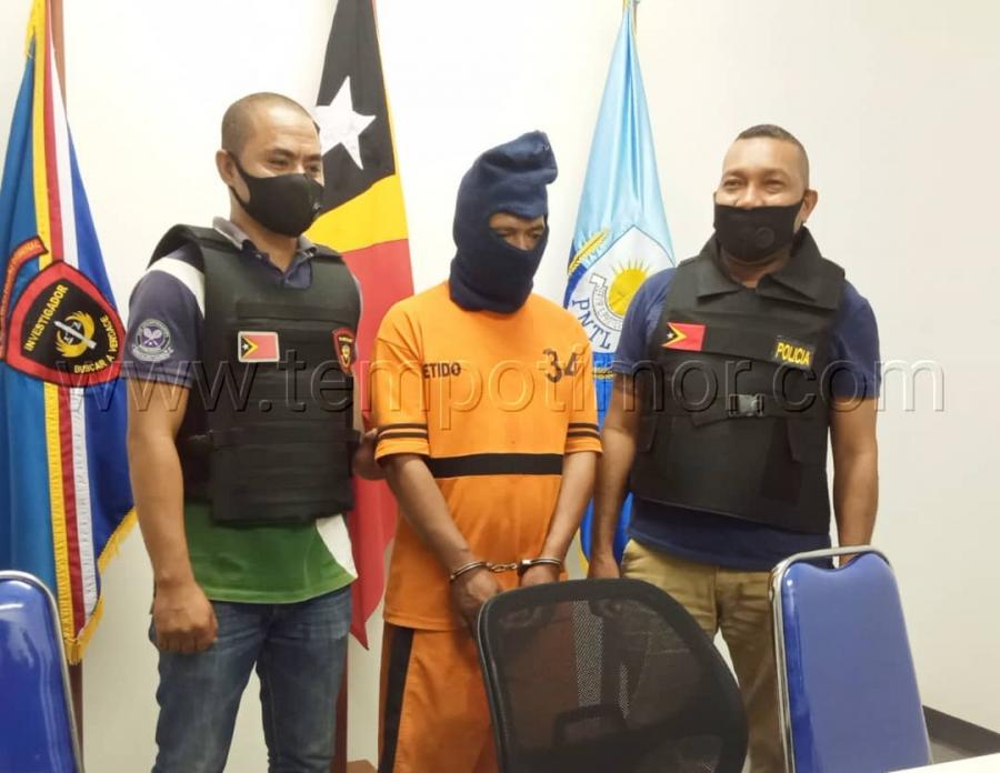 PNTL Kaptura Suspeitu Sunu Uma Iha Eis Merkadu Komoro