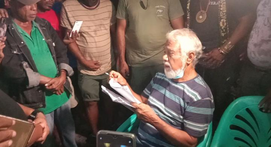Xanana Simu Ona Lista Vítima Inséndiu Merkadu Comoro