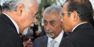 Mari Alkatiri Talk with Xanana Gusmao and Taur Matan Ruak in 2014