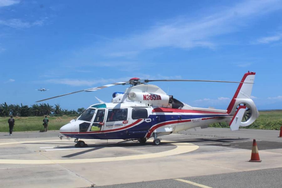 SEPS Sei Uza Helicópteru Tula Apoiu Umanitáriu ba Vítima Inundasaun