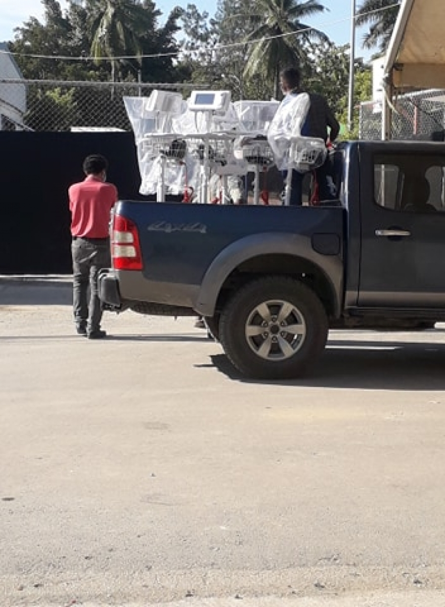 Purchasing of medical equipment and supplies for the management of the Covid-19 crisis.