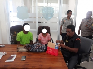 Indonesian Autority captured Timorese suspected of drugs currier