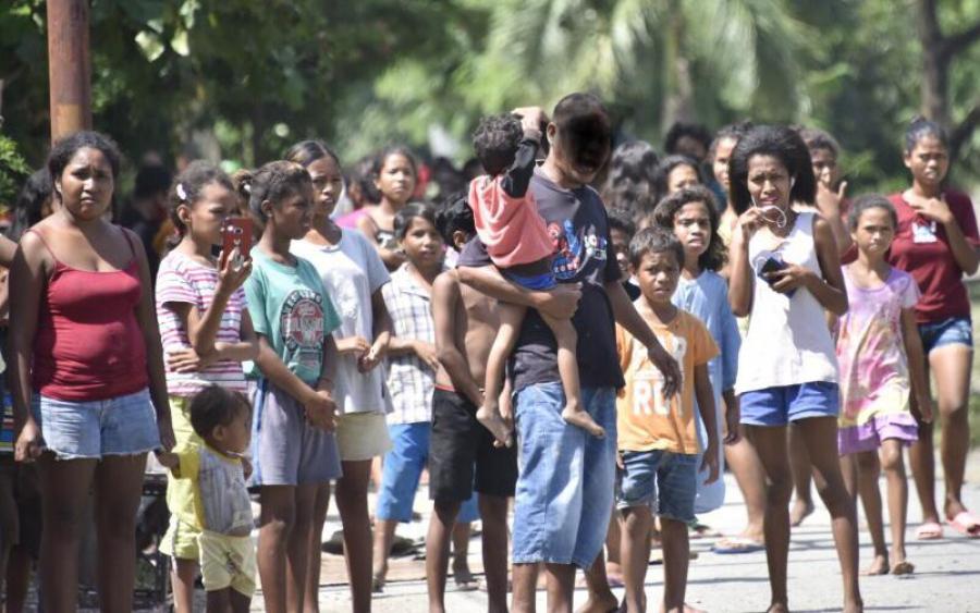 Vítima Inundasaun Rejeita Taur, Hakarak Prezensa Xanana