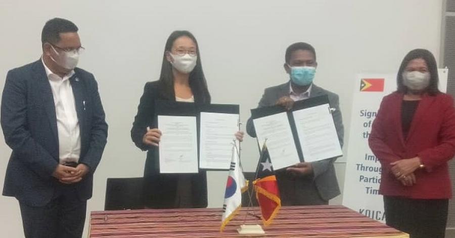 Korea Apoiu Millaun US$6 ba Melloramentu Agrikultura iha Munisípiu Tolu