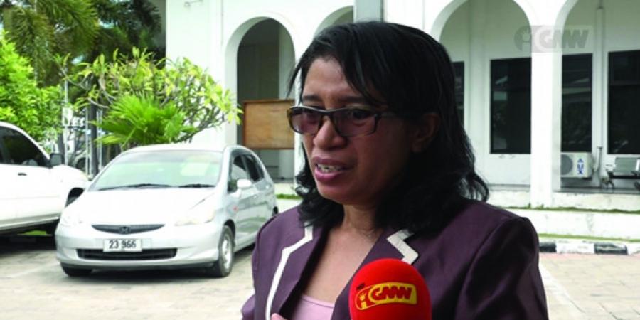 Deputada CNRT Ameasa Vota Kontra OJE 2020