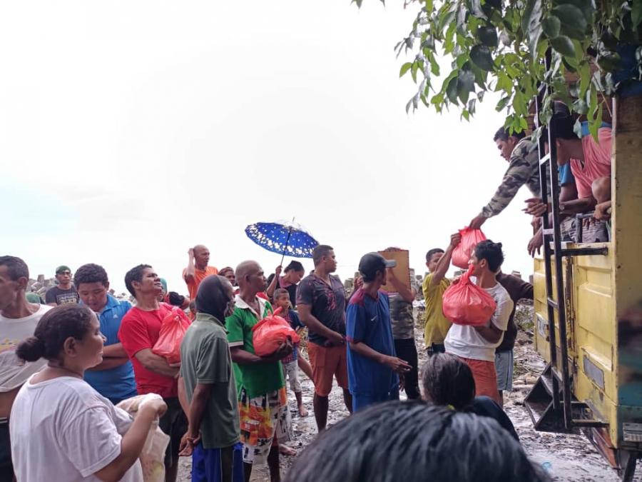 Xanana Organiza Intelektuál Manatutu Anan Apoia Vítima Dezastre Naturál