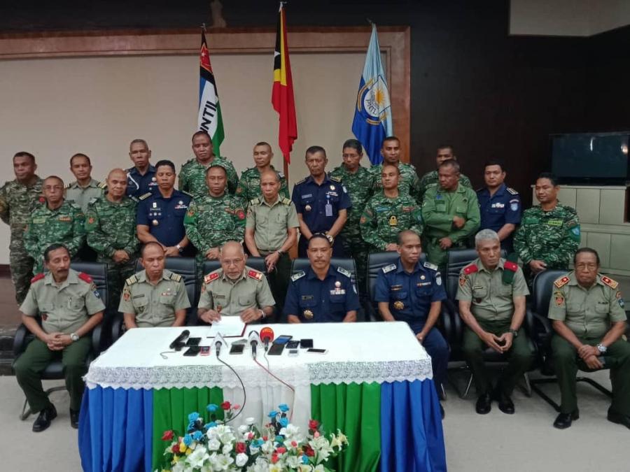 Hanoin Aat Ba Soberania, F-FDTL no PNTL Prontu Fakar Raan