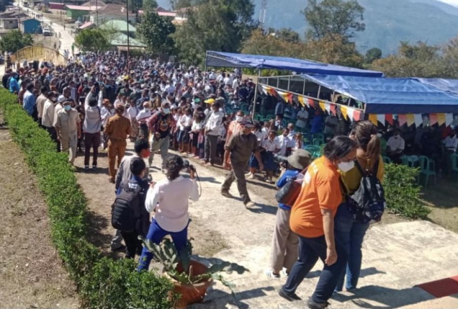 Komunidade Moe Taur Hala'o Kampaña Vasinasaun iha Hatulia