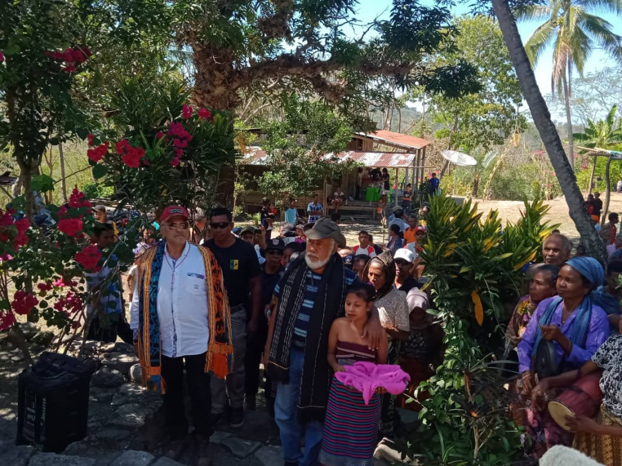 Komunidade Alas 'Fakar Sai' Difikuldades Ba Xanana-Horta