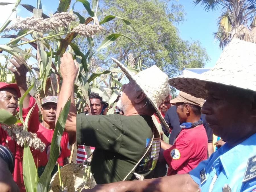 Tempo Timor breaking News husi Guico: Xanana Gusmao Silu Kay Rala