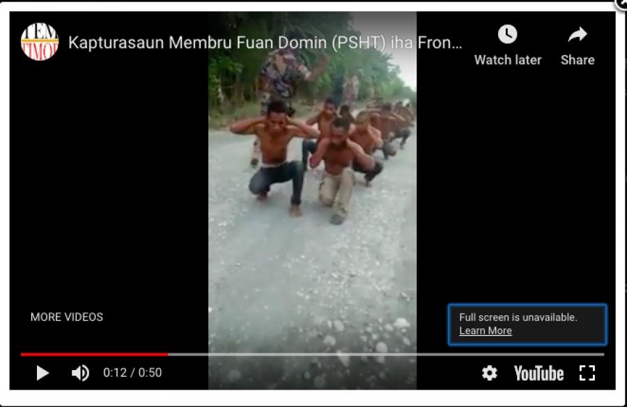 Kapturasaun Membru Fuan Domin (PSHT) iha Fronteira