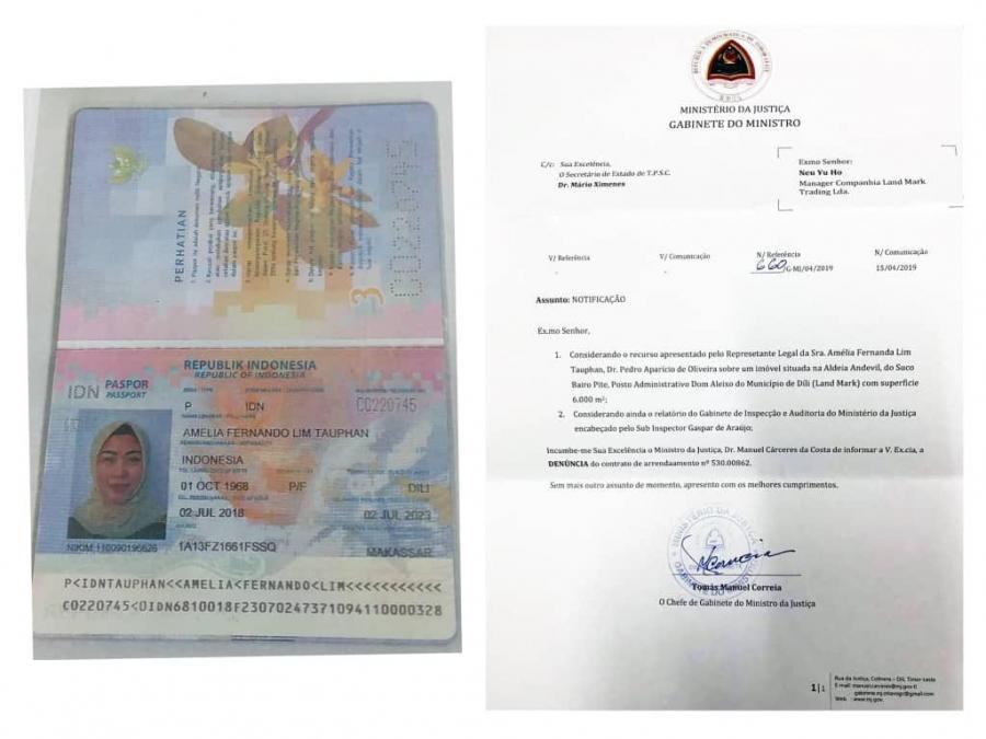 Rede Mafia iha Kalilin Ministériu Justisa