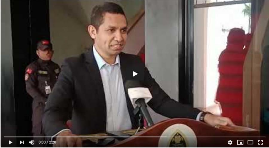 Hafoin Investiga Husi MP, MOP Salvador Hasoru TMR