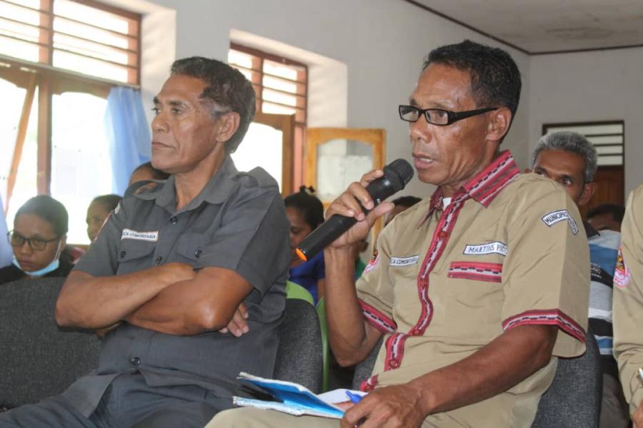 Suku Fuat Presija Postu Saúde no Kondisaun Eskola Di'ak