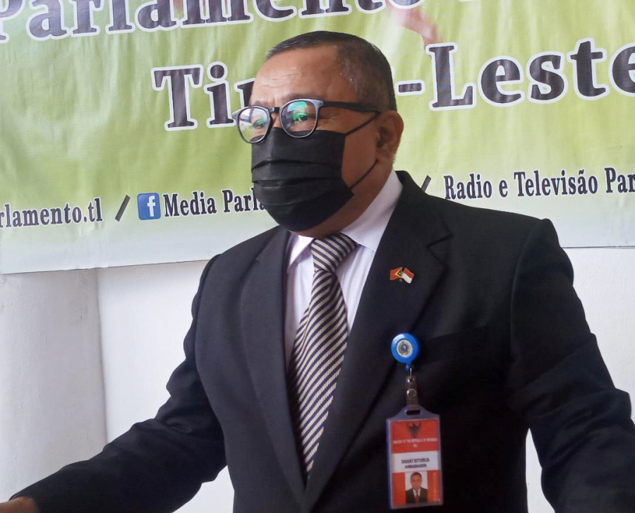 Semana Oin, Embaixadór RI Sahat Sei Hakotu Mandatu iha TL
