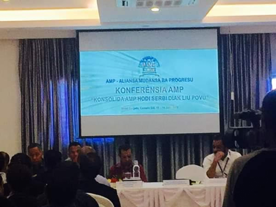 AMP Held a Conference To evaluate the Government's Performance, Xanana was not present