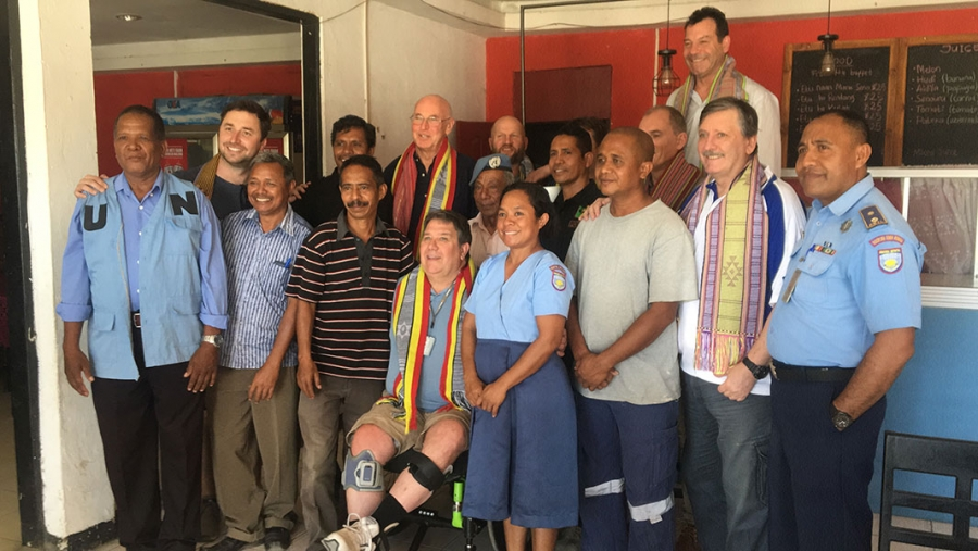 'My visit to East-Timor was the best thing in years'