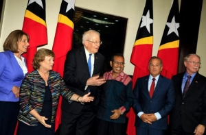 Seven US Congressmen met with East Timor Prime Minister, Taur Matan Ruak in Government building in Dili (29/07)