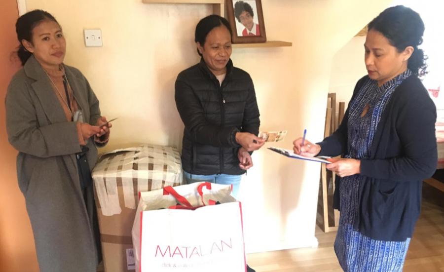 Timoroan Iha Inglatera Fó Apoiu Solidariedade ba Vítima Inundasaun