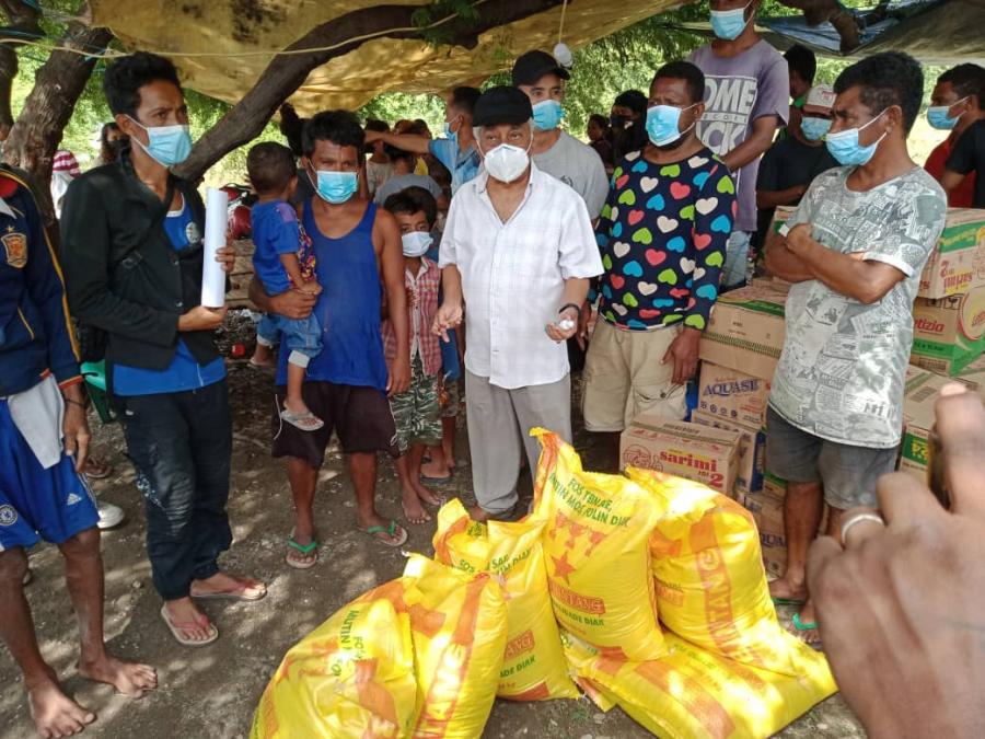 Mari Apoiu Vítima Inundasaun Iha Tasitolu