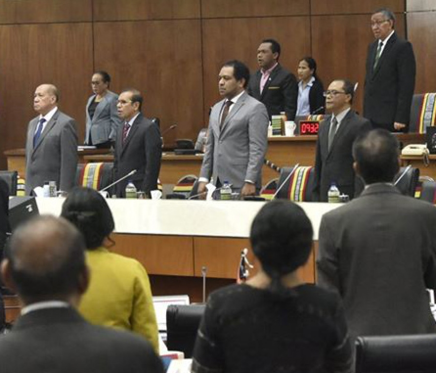 Political Crisis : Timor-Leste Parliament rejects 2020 state budget