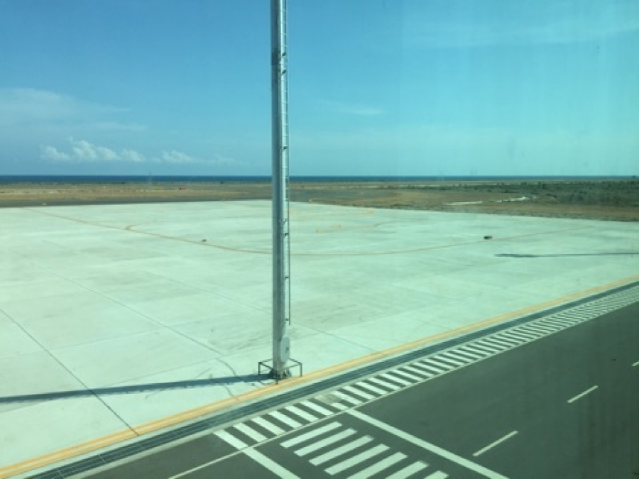 An Empty international Airport in Oecusse, East Timor
