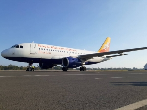 Aviaun Royal Bhutan Airlines, Kinta (31/10/19) to'o ona Dili.