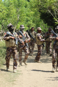 Komandu PNTL Kontinua Alerta UPF 'aperta' Fronteira
