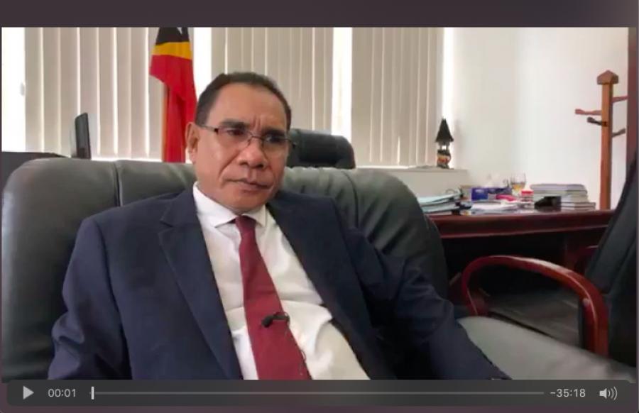 Intervista Ministru Justisa S.E. Manuel Cárceres da Costa
